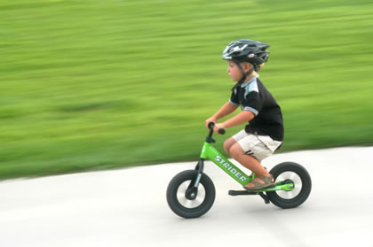 Bikes For Toddlers Boys The bike wobbled from side to
